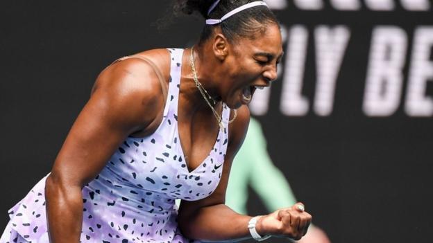 Australian Open: Serena Williams & Naomi Osaka into second round - BBC Sport