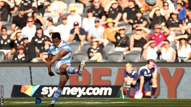 Rugby Championship: Argentina beat New Zealand for first time with shock 25-15 victory thumbnail