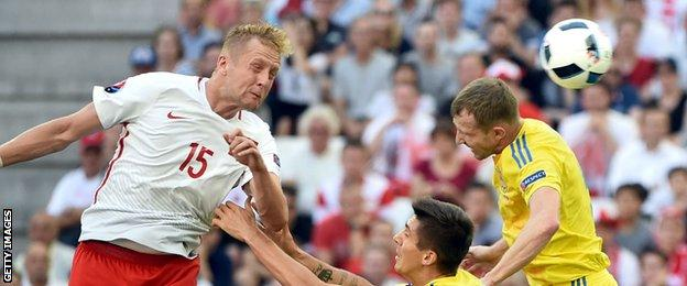 Poland centre-back Kamil Glik made 10 clearances, which was the most in the match, and made three interceptions