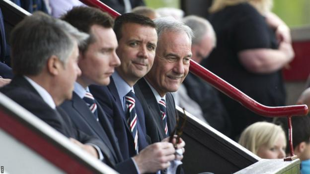 Malcolm Murray, Brian Stockbridge, Andrew Dickson and Charles Green