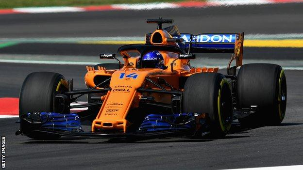 Fernando Alonso of McLaren