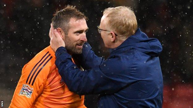 Allan McGregor & Alex McLeish