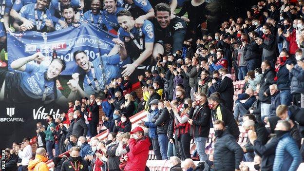 Les fans de Bournemouth