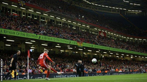 Wales v Spain at Principality Stadium