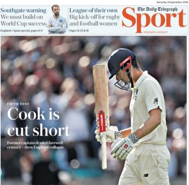 Saturday's Telegraph