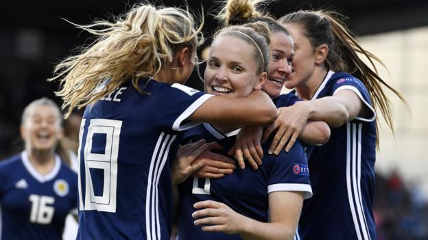 Iceland 1-4 Scotland: Shelley Kerr's side finish second in Algarve Cup group thumbnail
