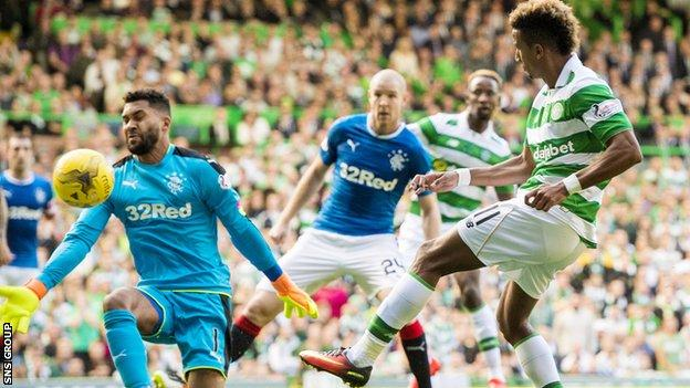 Celtic were 5-1 winners against Rangers earlier this month