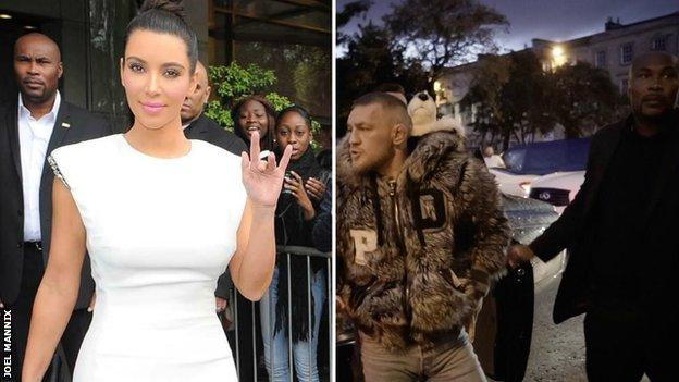 Mannix has acted as a bodyguard for reality star Kim Kardashian and UFC fighter Conor McGregor