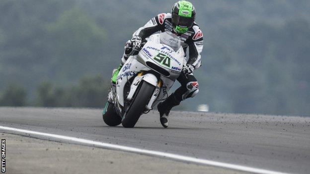 Eugene Laverty in action at Le Mans in May
