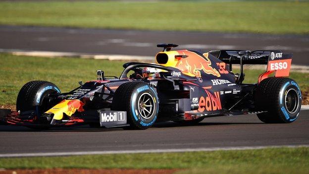 RB16 Red Bull F1 car