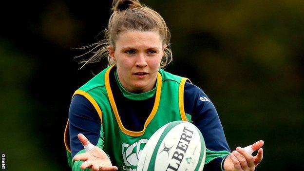Ireland captain Ciara Griffin
