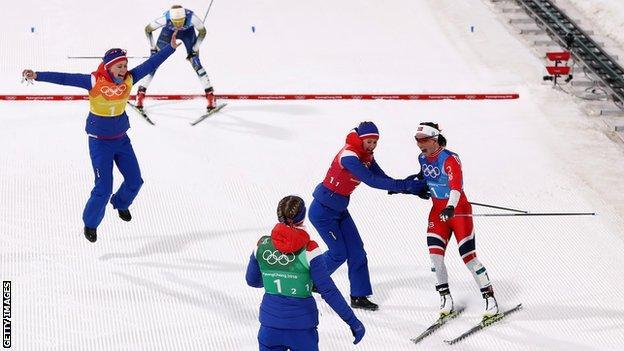 Norway relay team
