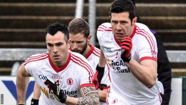 Tyrone pair Cathal McCarron and Sean Cavanagh are in the running for 2016 All-Stars