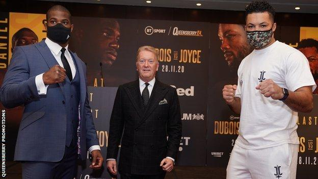 Joe Joyce stops Daniel Dubois with jab in 10th round