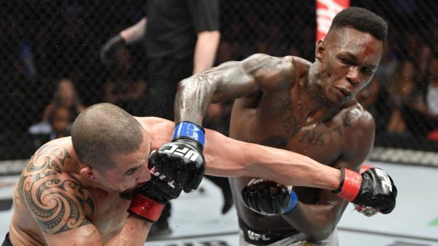 UFC 243: Israel Adesanya dethrones Robert Whittaker in Melbourne