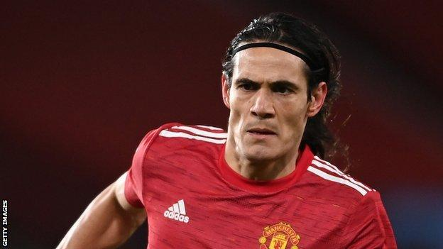 Man Utd's Cavani banned for three matches over social media post thumbnail
