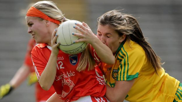 Determination from players like Lauren McConville saw Armagh come out on top by a two-point margin