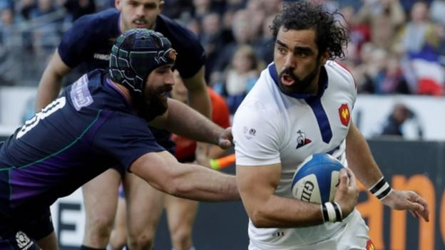 Six Nations: France 27-10 Scotland - Scots' 20-year wait for Paris win goes on thumbnail