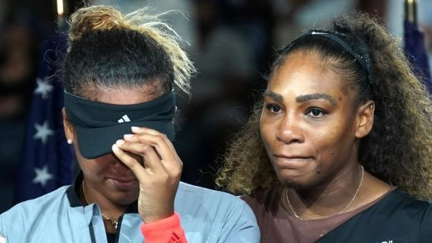 Serena Williams says she had therapy after US Open final outburst thumbnail