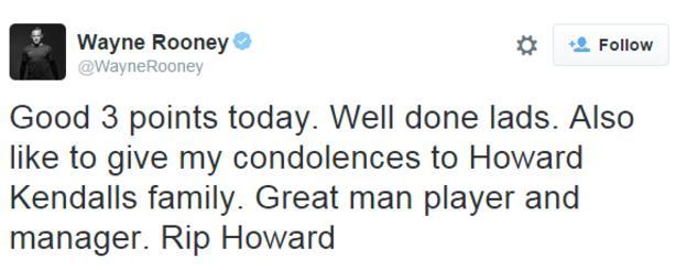 Wayne Rooney's Twitter