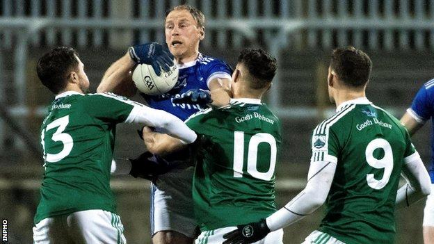 Anthony Thompson will be in action for Naomh Conaill against Castlerahan in the Ulster Club SFC on Sunday