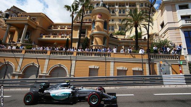 Nico Rosberg, Monaco Grand Prix 2015