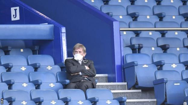 Liverpool legend Kenny Dalglish, who tested positive for coronavirus in April, wore a face mask as he watched the derby