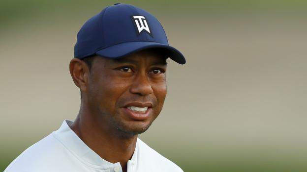 Tiger Woods shoots four-over at first PGA Tour play-off event thumbnail