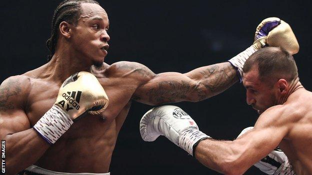 Anthony Yarde fights Sergey Kovalev