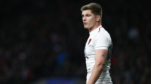 England captain Owen Farrell calls coach with 'pick me plea' from maternity ward thumbnail