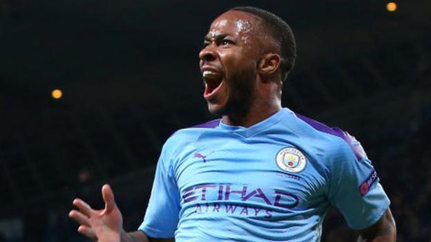 Manchester City 5-1 Atalanta: Pep Guardiola praises 'extraordinary' Raheem Sterling after hat-trick - BBC Sport