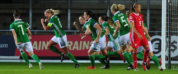 Ashley Hutton scores against Wales