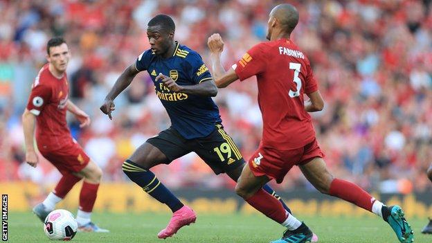 Arsenal forward Pepe
