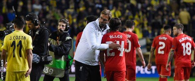 Allen and Klopp