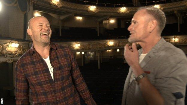 Alan Shearer and Paul Gascoigne