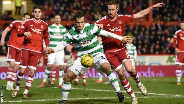 Celtic have lost twice at Pittodrie this season