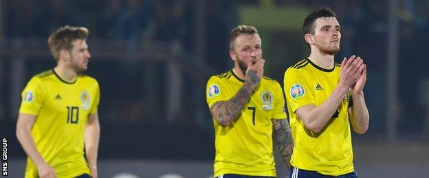 Scotland have three points from their opening games in Kazakhstan and San Marino