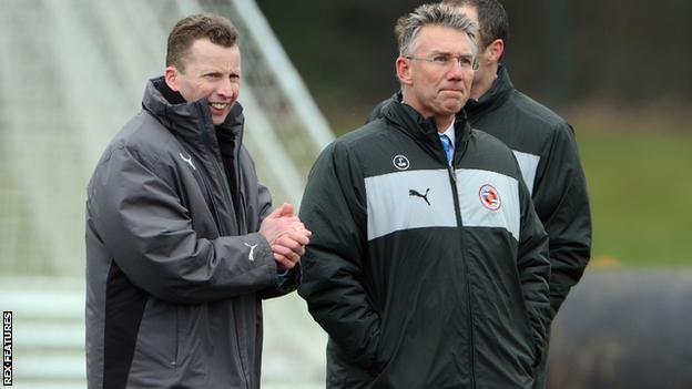 Nicky Hammond (left)