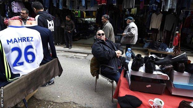 Riyad Mahrez shirts for sale in Algeria