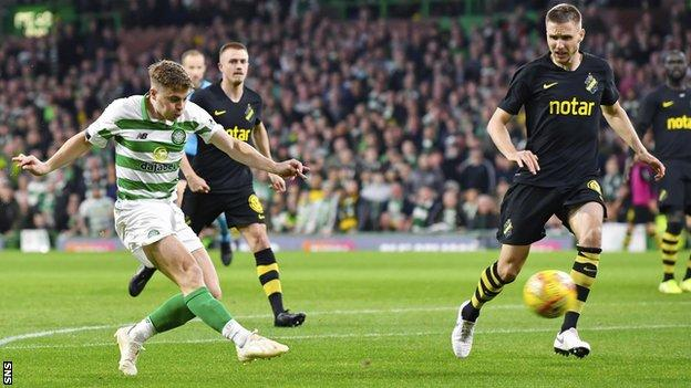 James Forrest scored for a fifth consecutive game to break AIK's resistance