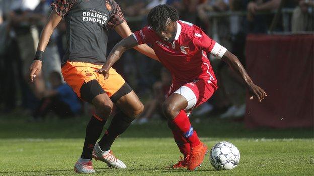 Sion club captain Xavier Kouassi