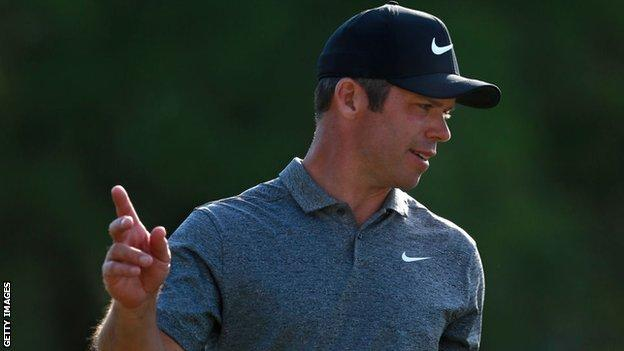Casey is seeking to defend the Valspar Championship