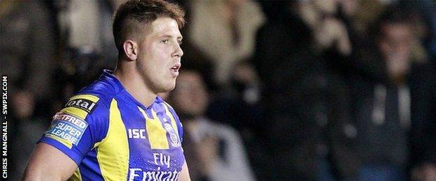 Warrington winger Tom Lineham scored his seventh try of the season to complete the turnaround at the Halliwell Jones