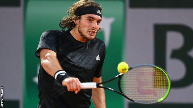 Stefanos Tsitsipas had never before fought back from two sets down to win a five-set match