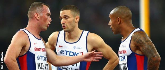 Richard Kilty and James Ellington
