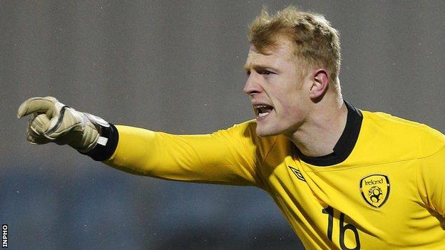 Aaron McCarey has played for the Republic of Ireland at youth level