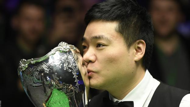 UK Championship: Ding Junhui never stopped believing he would win again