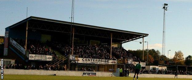 Basingstoke Town's Camrose Stadium
