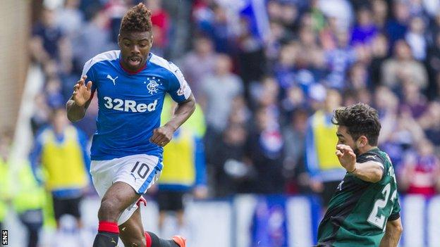 Nathan Oduwa has joined Rangers on loan from Tottenham