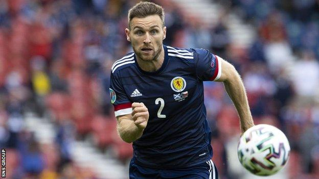 Scotland and Motherwell right-back Stephen O'Donnell